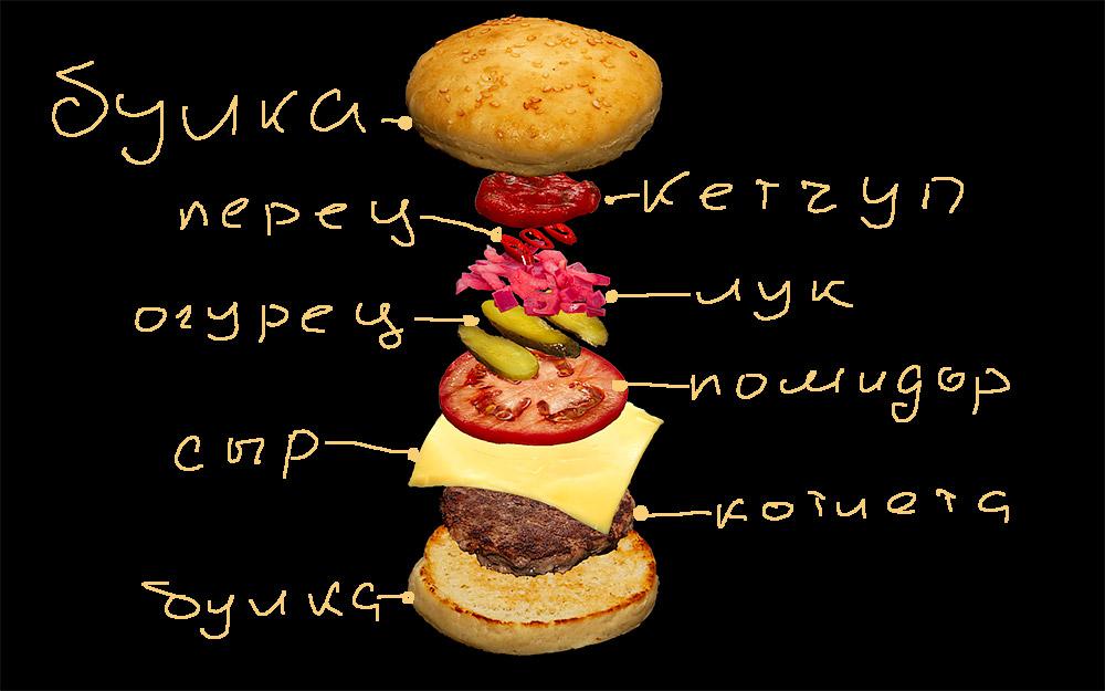 чизбургер дома рецепт