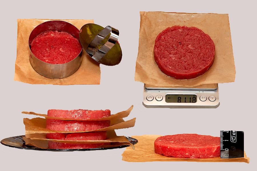 как сделать котлеты для бургера
