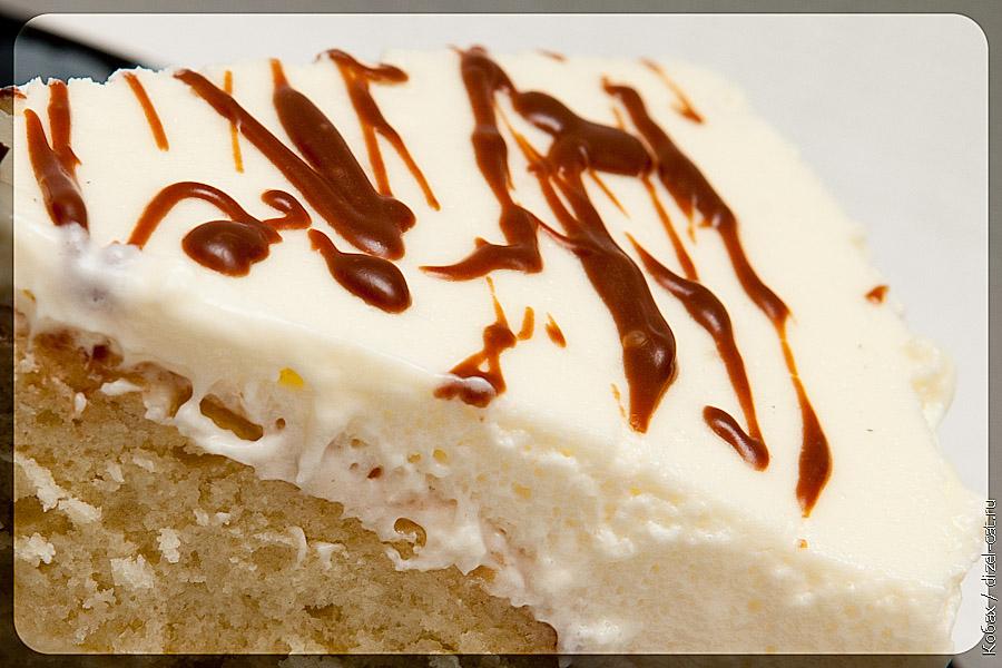 бисквитный десерт сметанный крем
