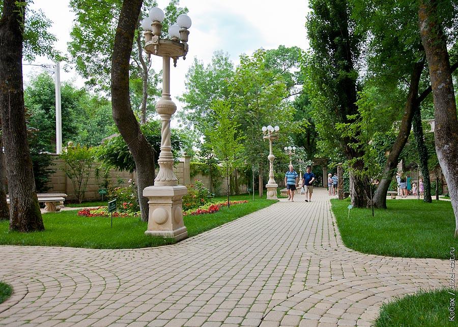 кабардинка старый парк