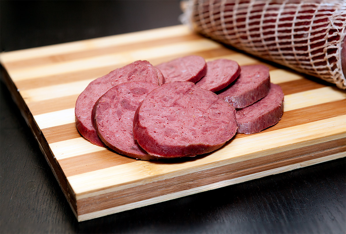 колбаса из оленины рецепт