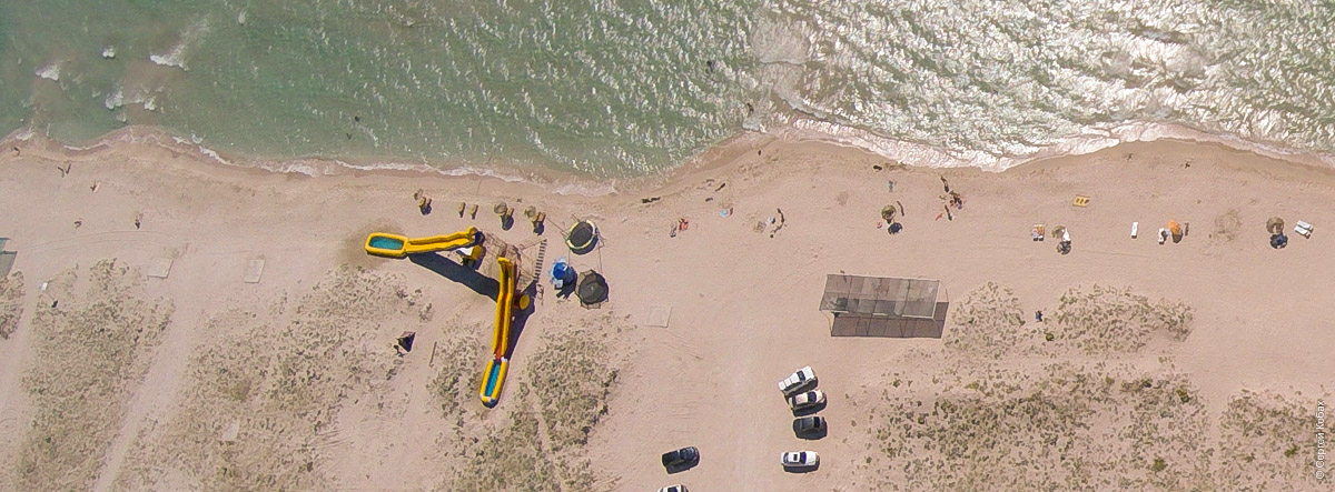 крым оленевка пляж тарханкут