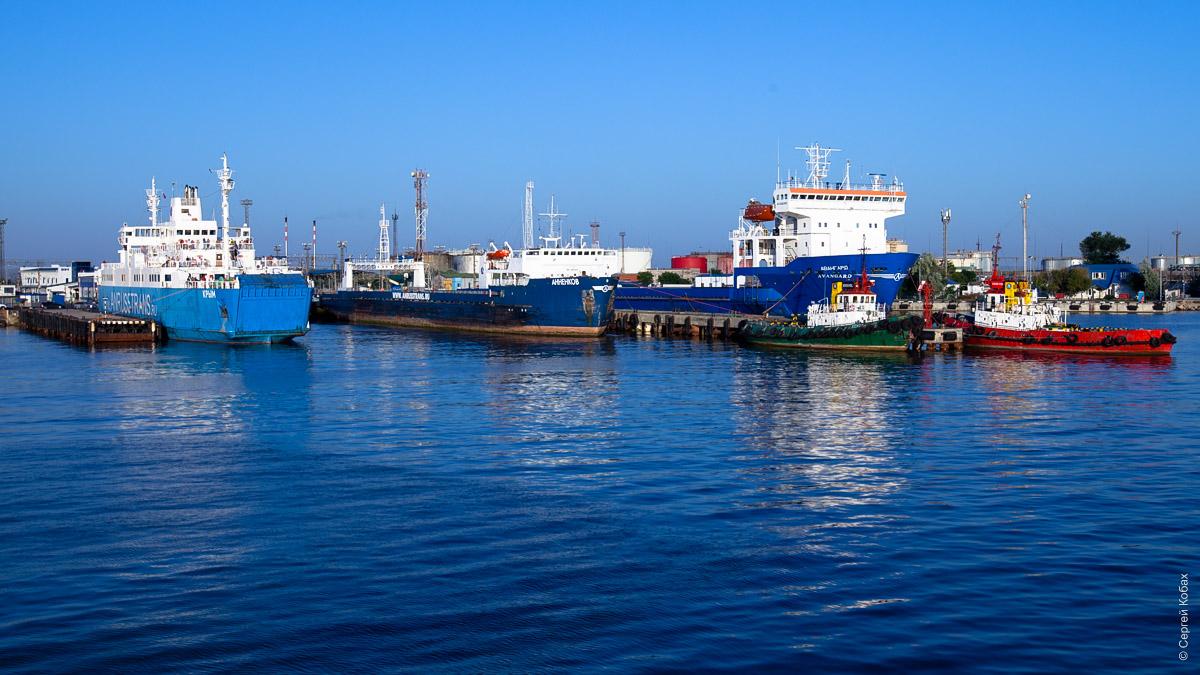крым порт пролив