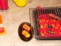 Рецепт муссового пирожного.  Рецепт муссового пирожного  Красно-желтая зебра