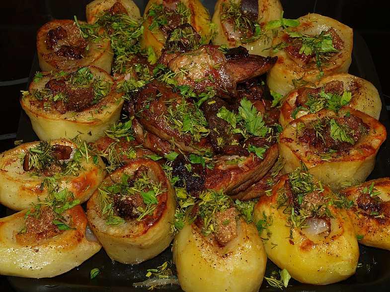 картошка запеченная с майонезом в духовке рецепты с фото