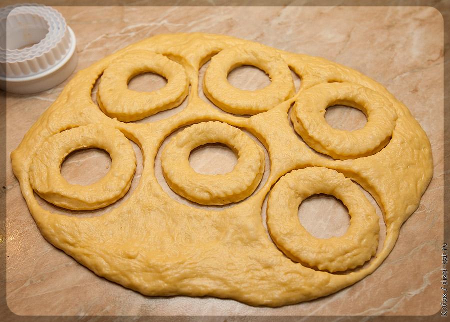 Как сделать тесто пончики