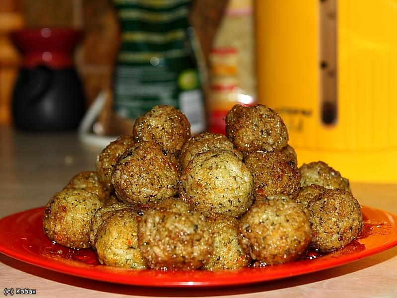 шарики из риса