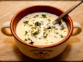 Простая и вкусная штука - Сырный суп-пюре. Даже ребенок приготовит!