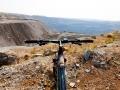 Велопрогулка около карьера мир
