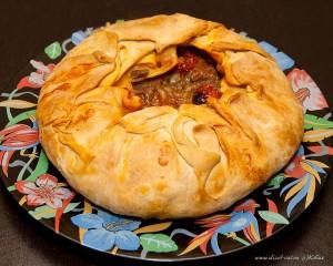 пирог с мясом тесто фило